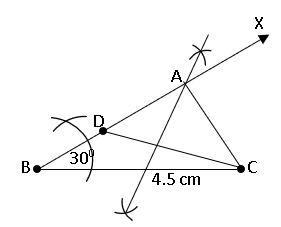 TS IX Maths Geometrical Constructions 14