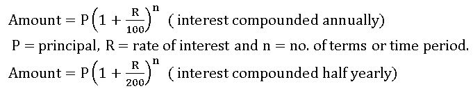 TS VIII MATH COMPOUND INTEREST