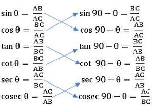 TS X maths . త్రికోణ మితి 5