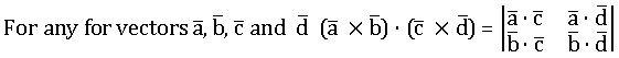 TS inter 1A scalar product of four vectors 1
