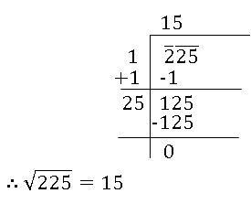 icse class 8, square root of a number