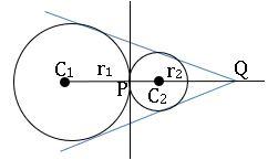 ts inter maths 2B the circles touch each other externally